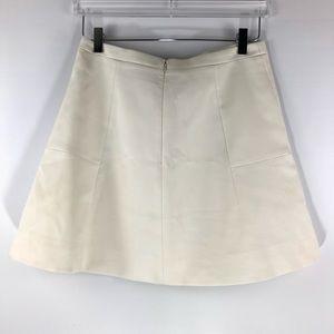 J. Crew Skirts - J. Crew • Cream classic skater skirt